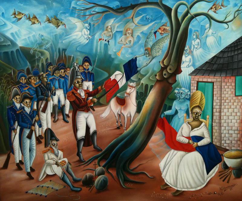 Haitian Revolution Painting